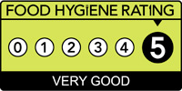 The Hildebrand Hotel has a Food Hygiene Rating of 5